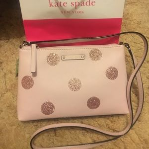 BNWT Kate spade cross body purse